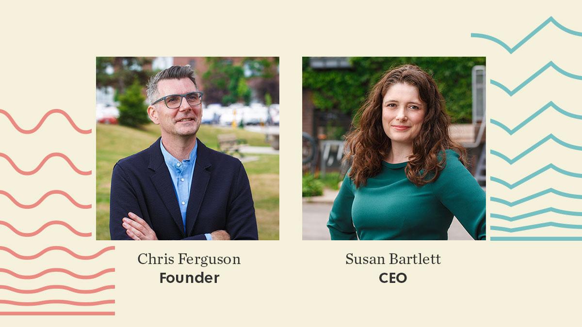 Chris Ferguson and Susan Bartlett