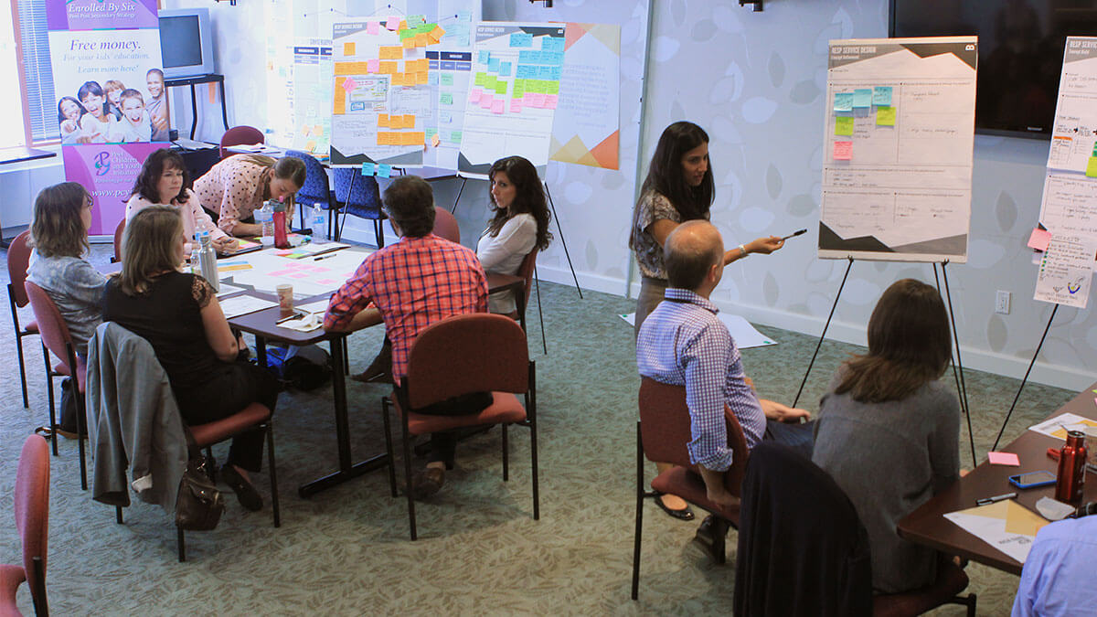 Image of co-creation workshop